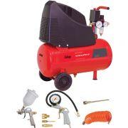 Компрессор воздушный с набором пневмоинструмента 5 предметов FUBAG HOUSE MASTER KIT+ 5