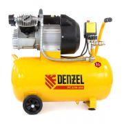 Компрессор масляный коаксиальный Denzel PC 2/50-350