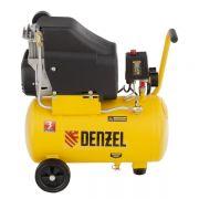 Компрессор воздушный безмасляный, прямой привод, Denzel DLC1300/24