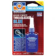 Фиксатор резьбовых соединений средней фиксации синий, 10 мл, Permatex Medium Strength Threadlocker Blue